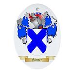 Slatter Oval Ornament