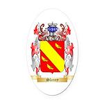 Slaney Oval Car Magnet