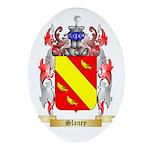 Slaney Oval Ornament