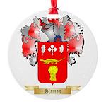 Slamon Round Ornament