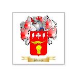 Slamon Square Sticker 3