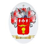 Slamon Oval Ornament