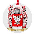 Slabiak Round Ornament