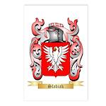 Slabiak Postcards (Package of 8)