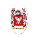Slabiak 35x21 Oval Wall Decal