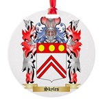 Skyles Round Ornament