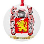 Skrimshire Round Ornament