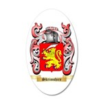 Skrimshire 35x21 Oval Wall Decal
