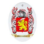 Skrimshire Oval Ornament