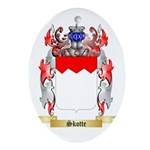 Skotte Oval Ornament