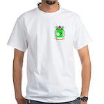 Skolnivoc White T-Shirt
