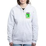 Skolnivoc Women's Zip Hoodie