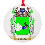Skolnivoc Round Ornament
