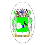 Skolnivoc Sticker (Oval)
