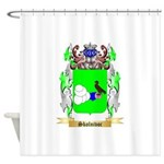 Skolnivoc Shower Curtain