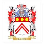 Skilman Square Car Magnet 3
