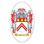 Skille Sticker (Oval 10 pk)