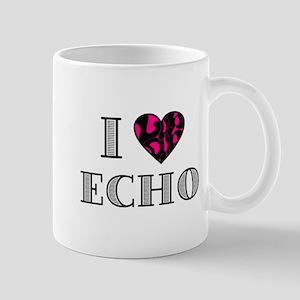 I LubDub Echo Hot Pink Mug