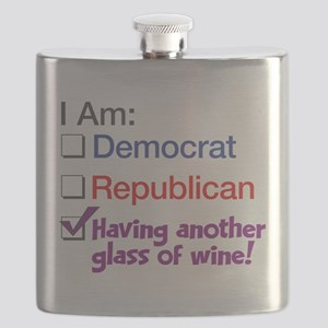 I Am Having Another Glass Of Wine Flask