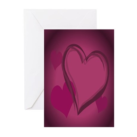Valentine's Art Greeting Cards 20 pack