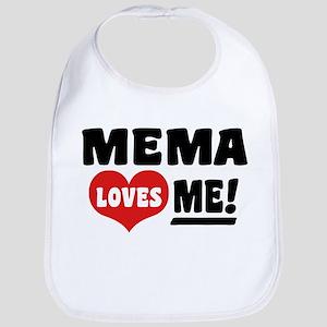 Mema Loves Me Bib