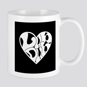 Lub Dub White Mug