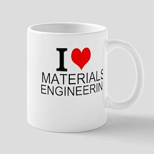 I Love Materials Engineering Mugs