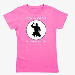 Ninja: If You Can Read This Women's Dark T-Shirt