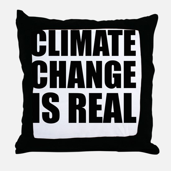 Cute Climate change Throw Pillow