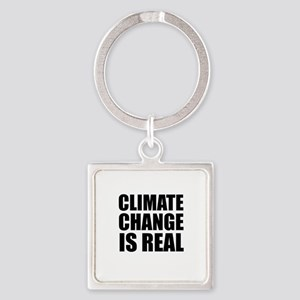 Climate Change is Real Keychains