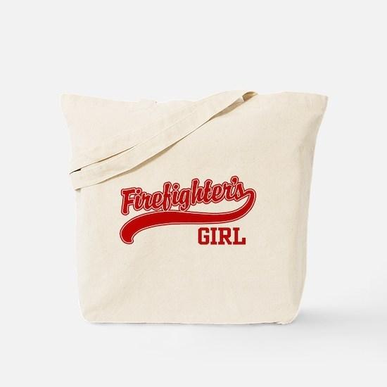 Firefighter's Girl Tote Bag