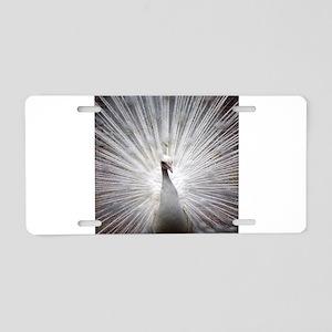 Peacock20160402 Aluminum License Plate