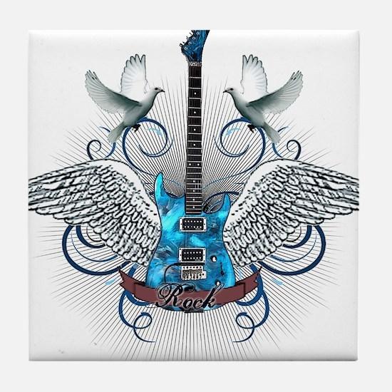Unique Wings Tile Coaster
