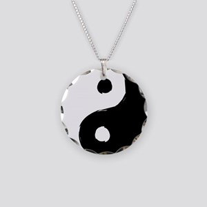 tao Necklace Circle Charm