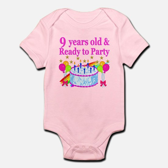 9TH BIRTHDAY Infant Bodysuit