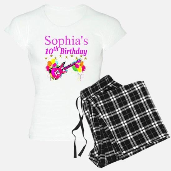 PERSONALIZED 10TH Pajamas