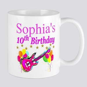 PERSONALIZED 10TH Mug