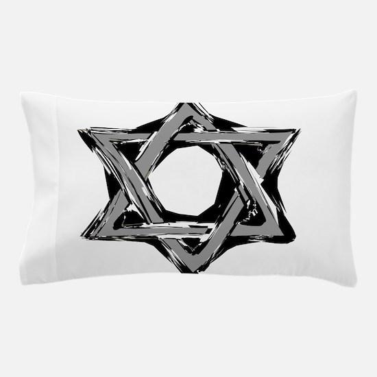 star of david Pillow Case