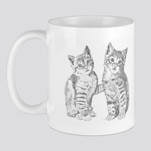 Tabby kittens 11 oz Ceramic Mug