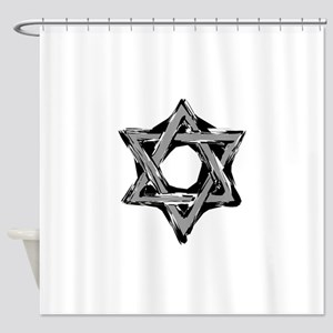 star of david Shower Curtain