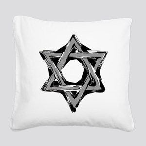 star of david Square Canvas Pillow