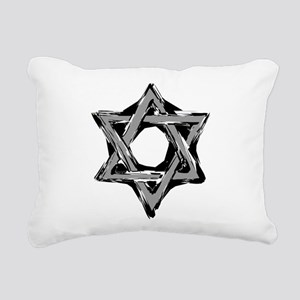 star of david Rectangular Canvas Pillow