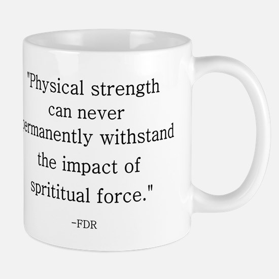 FDR QUOTE Mugs