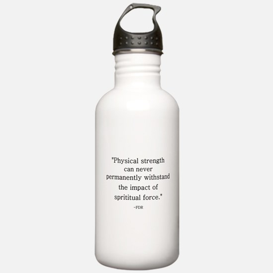 FDR QUOTE Water Bottle