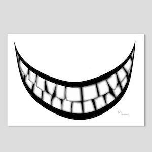 Huge Teeth Smile Postcards (Package of 8)