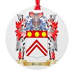 Skiles Round Ornament