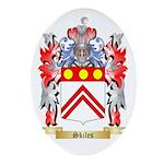 Skiles Oval Ornament