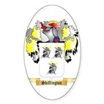 Skiffington Sticker (Oval)
