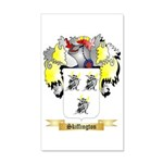 Skiffington 35x21 Wall Decal