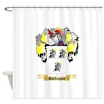 Skiffington Shower Curtain